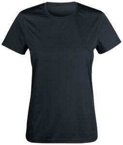 tech t-shirt ladies black Swimbiosis